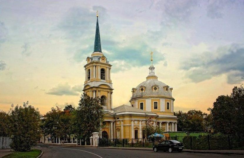 Вознесенская церковь в Гороховом поле