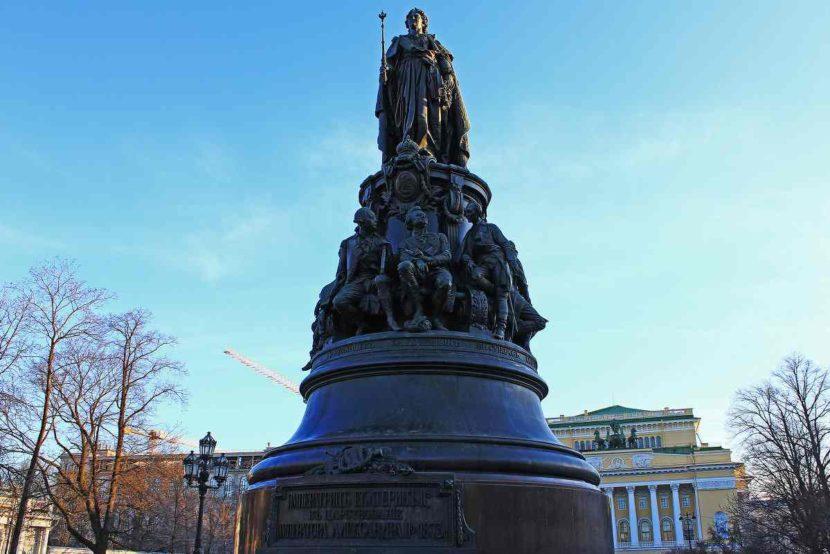 Памятник Екатерине II или Екатерине Великой
