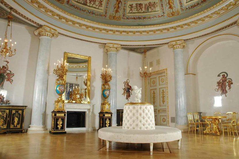 Интерьер дворца Юсуповых