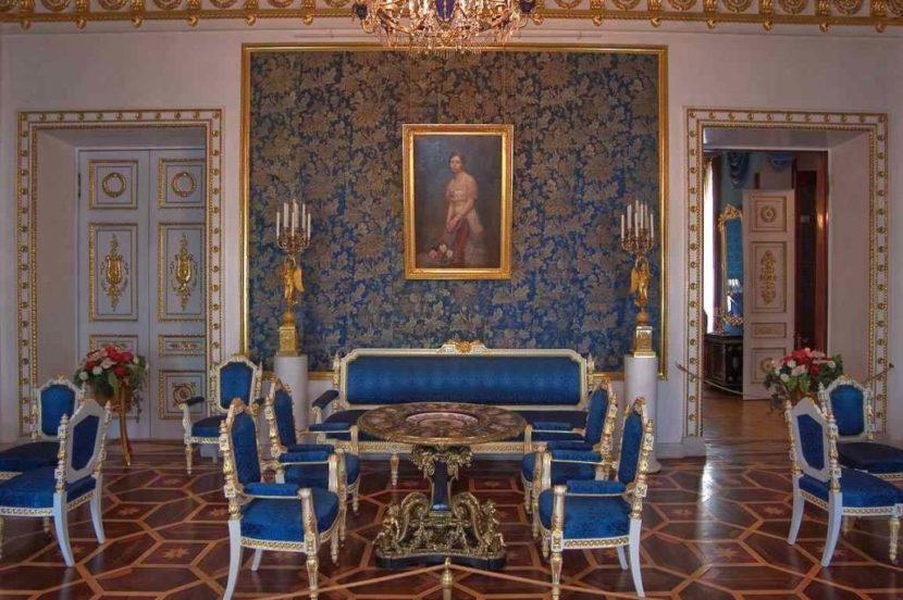 Зал дворца Юсуповых