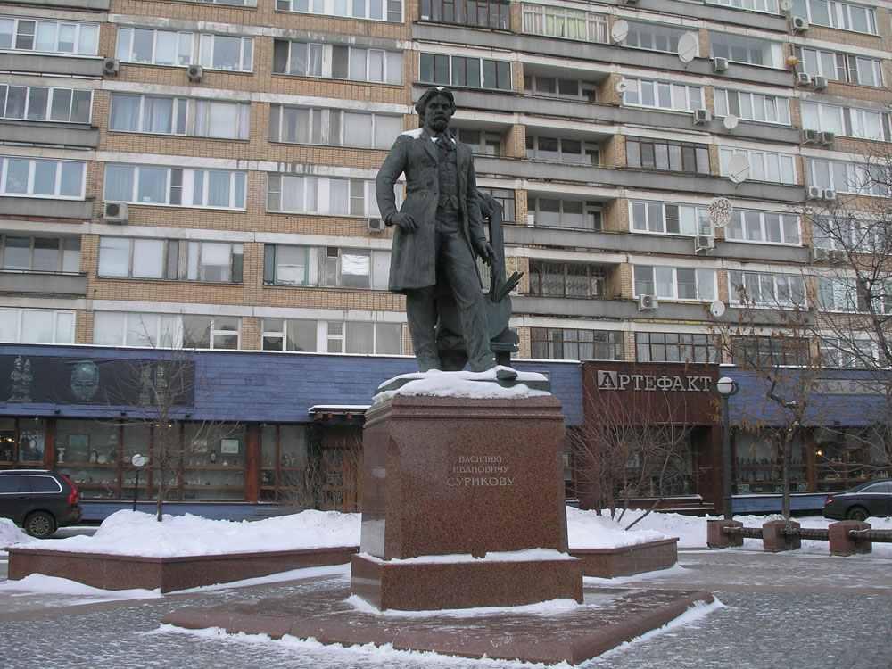 Памятник Василию Сурикову