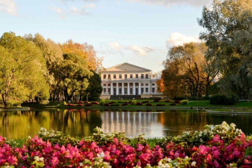 Сады Юсуповского дворца