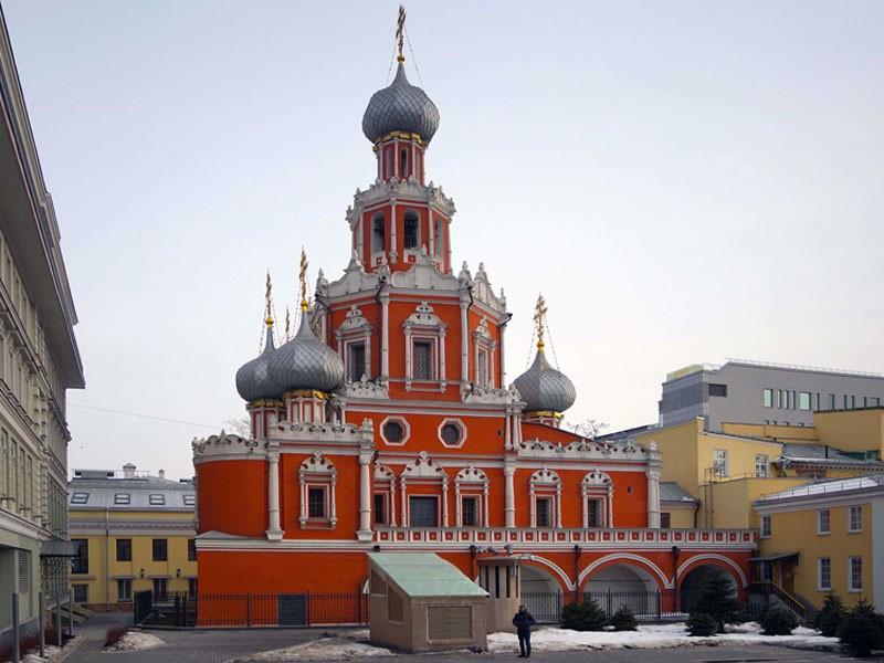 Церковь Знамения Пресвятой Богородицы в Шереметевском дворе