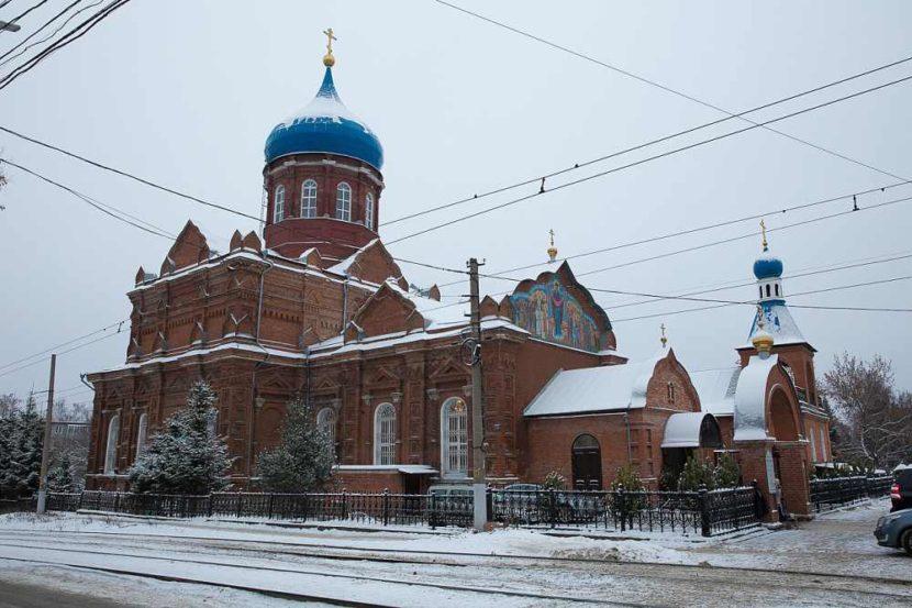 Церковь святого Феодосия Черниговского