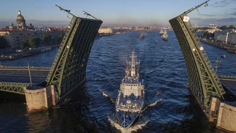 Корабль Петербург