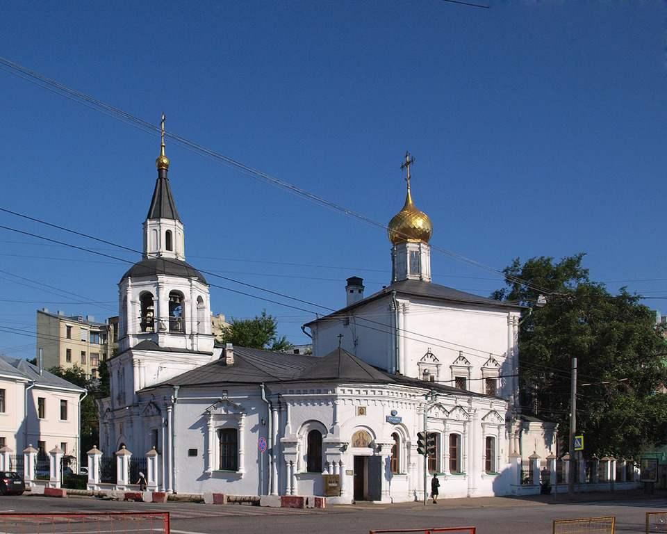 Церковь Успения в Печатниках