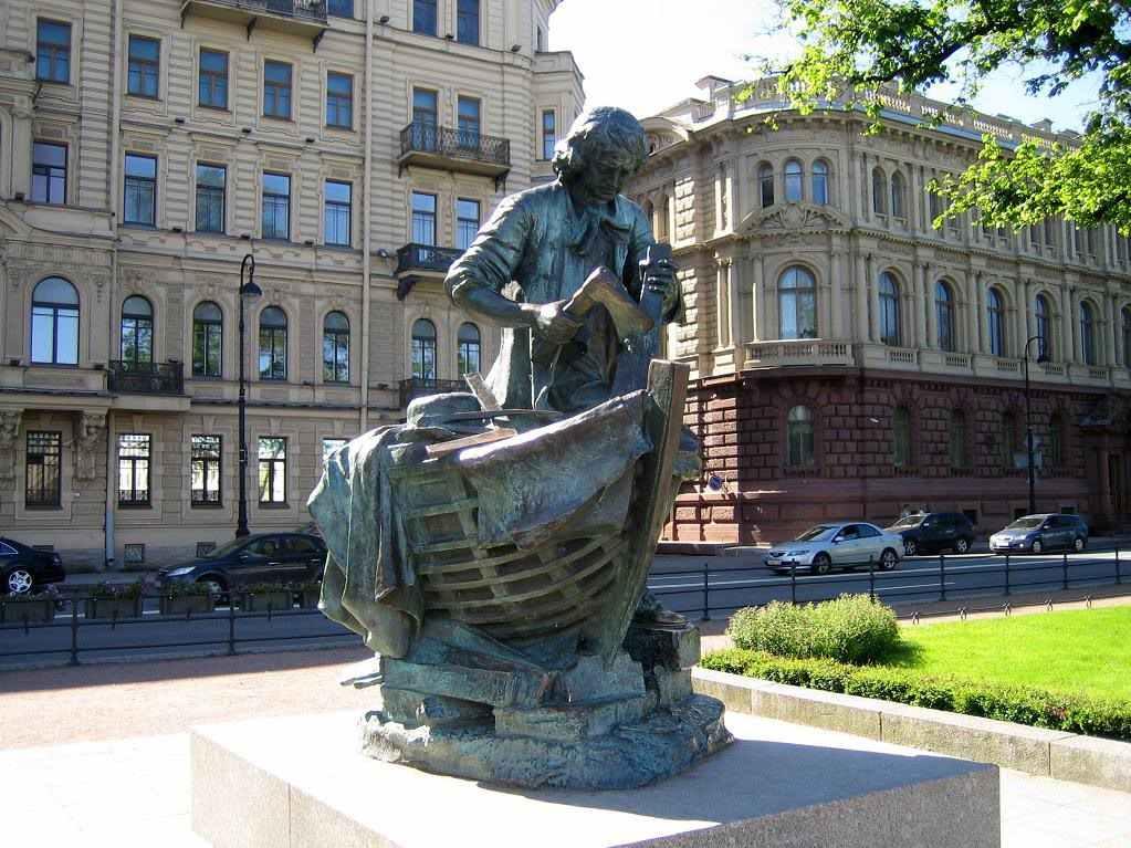 Памятник Плотнику-Царю