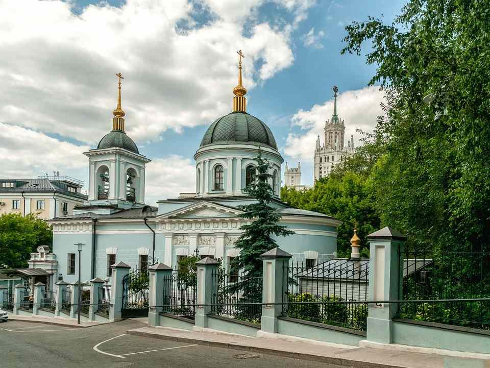 Никольская церковь в Котельниках