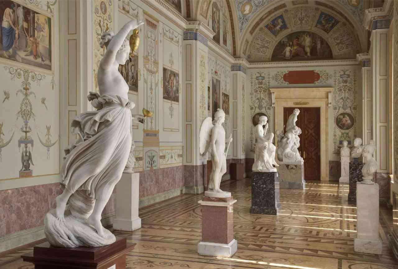 Скульптуры Эрмитаж