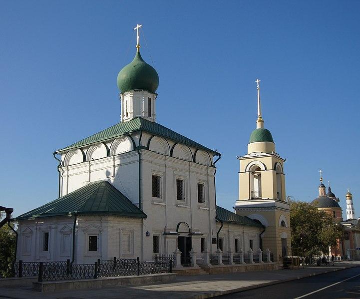 Церковь Святого Максима Блаженного на Варварке