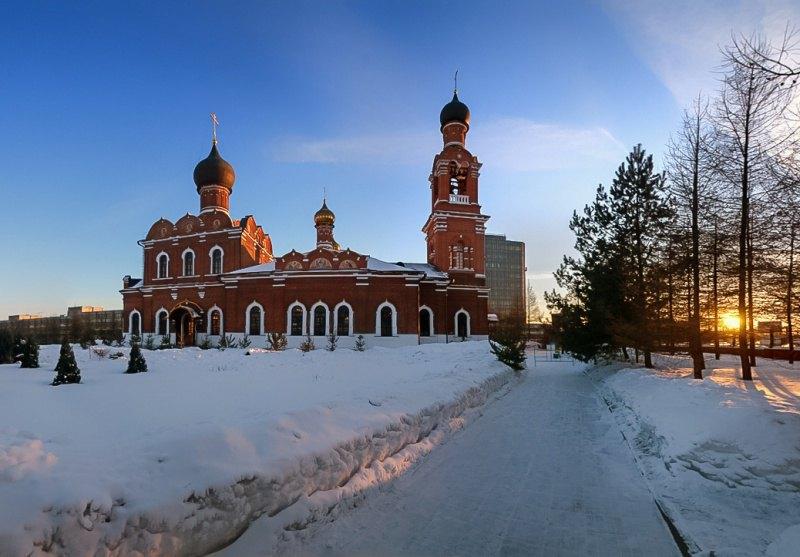 Спасо-Преображенская церковь в Тушино