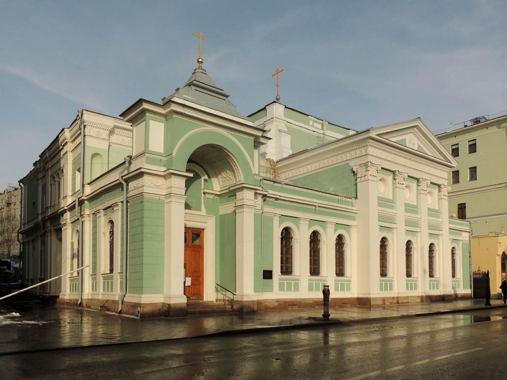 Троицкая церковь на Грязех