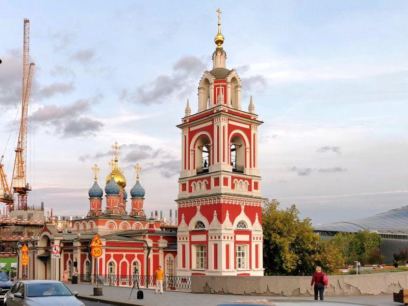 Георгиевская церковь на Псковской горе