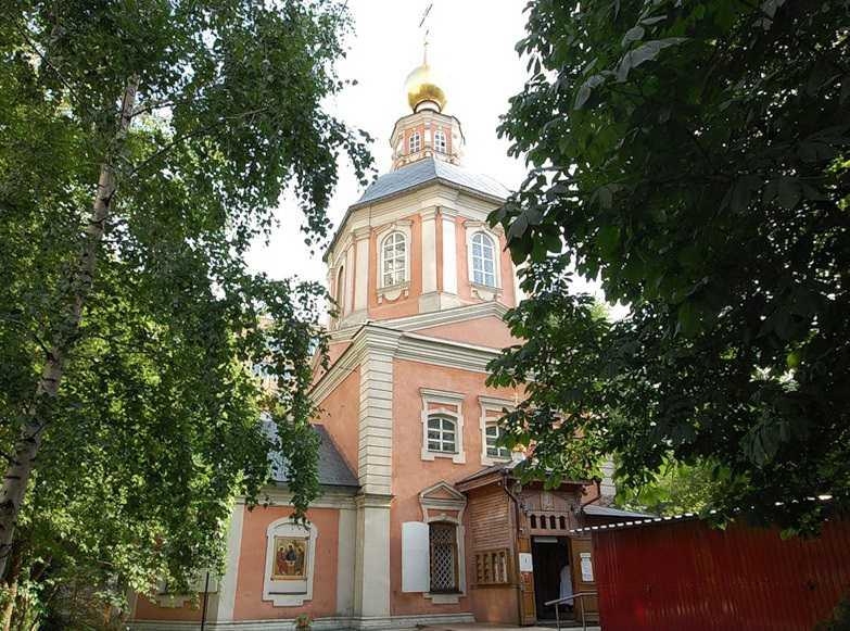 Спасо-Преображенская церковь на Болвановке