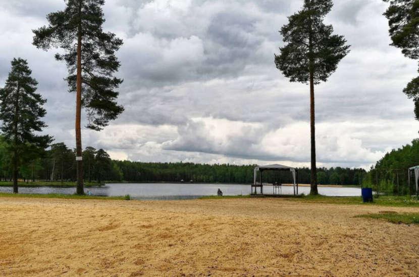 Пляж Коркинского озера