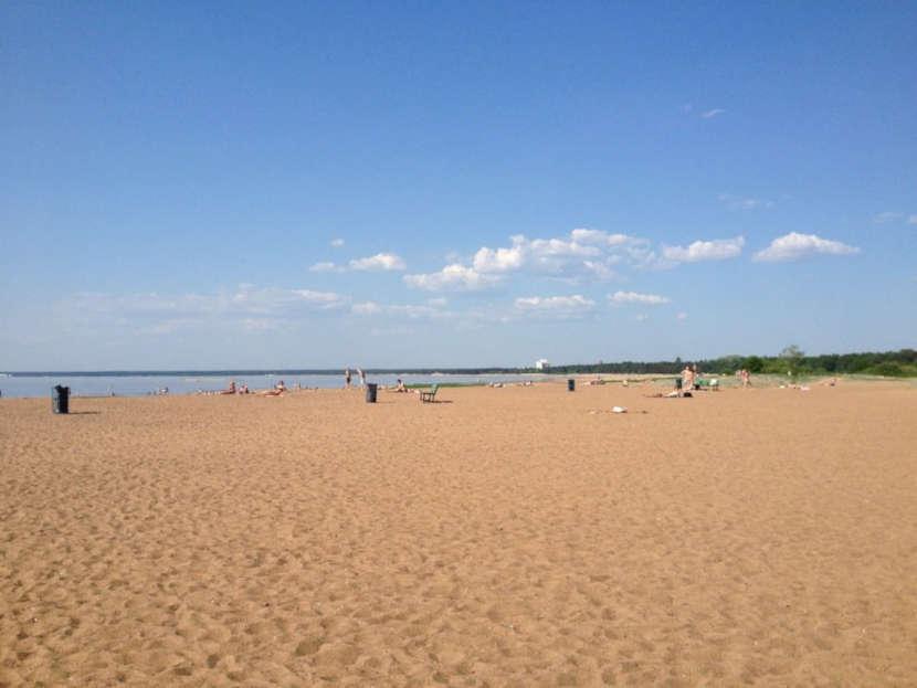 Пляж «Дубковский»