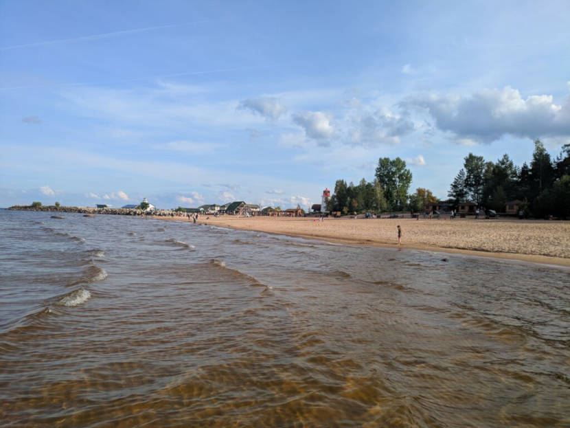 Пляжи Санкт-Петербурга - где можно купаться, на карте, фото [26 пляжей]