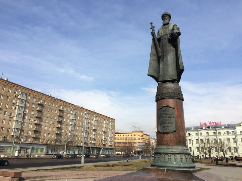 Памятник князю Даниилу Московскому