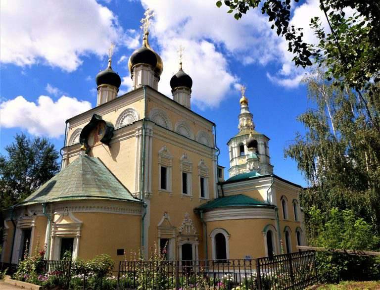Троицкая церковь в Кожевниках