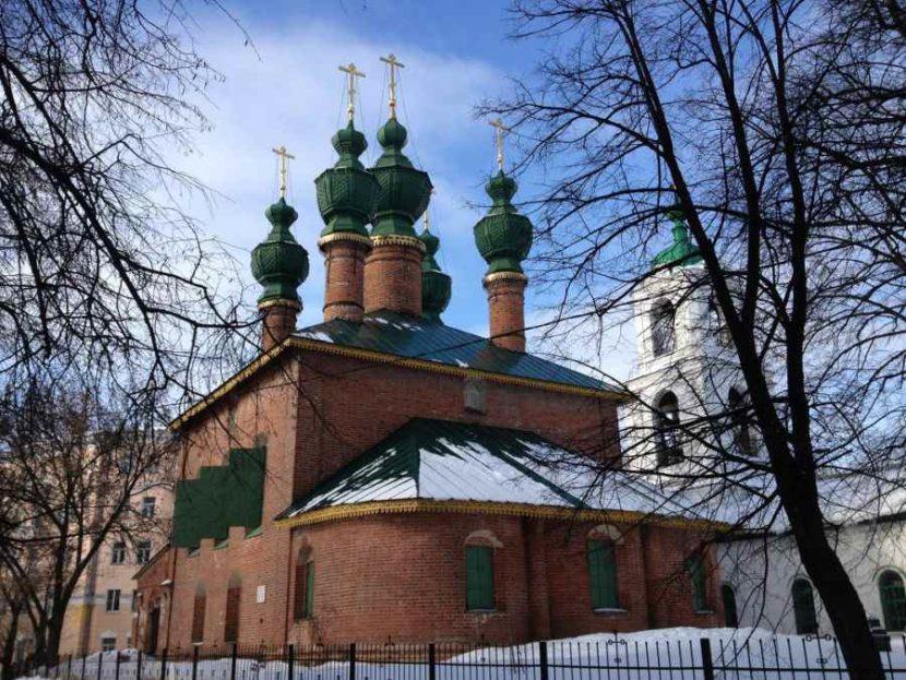 Церковный ансамбль Благовещенской церкви и Вознесенской церкви