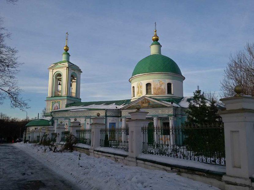 Троицкая церковь на Воробьевых горах