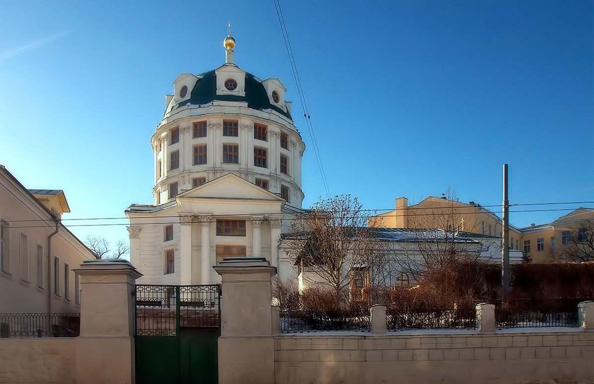 Церковь Святого Симеона Стилита за Яузой