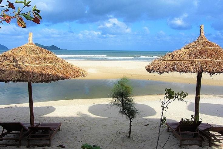 Пляж Дай Лань вьетнам