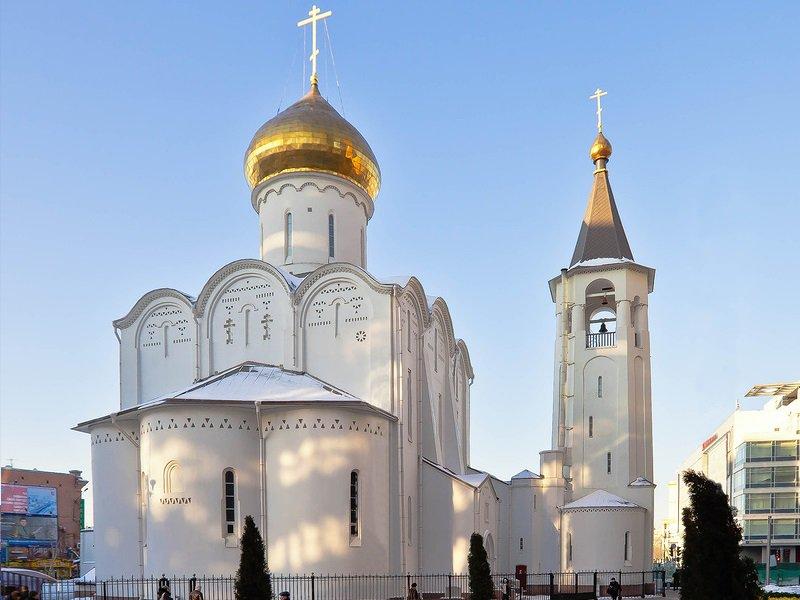 Свято-Никольский старообрядческий храм на Тверской Заставе