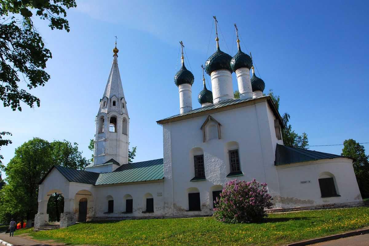 Церковь Святого Николая в рублевом городе