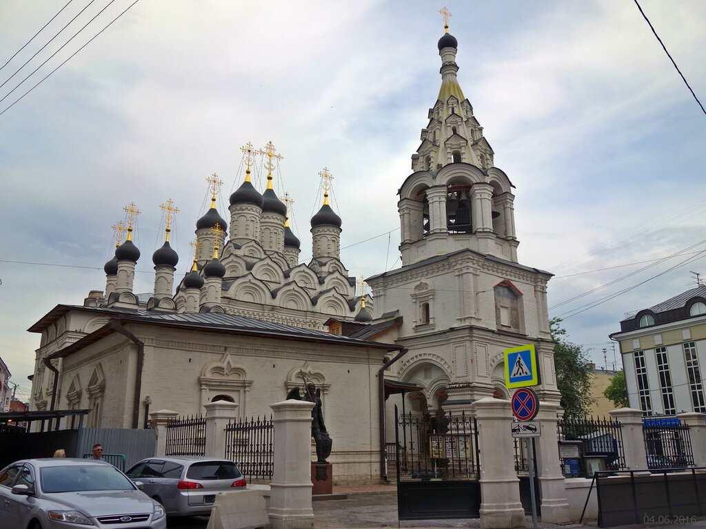 Церковь Знамения Пресвятой Богородицы за Петровскими воротами
