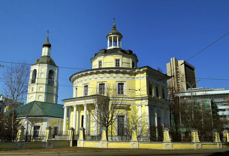 Храм митрополита Московского Филиппа в Мещанской слободе