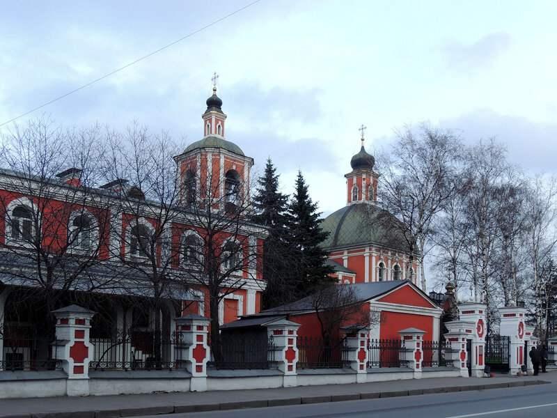 Церковь Знамения Пресвятой Богородицы в Переяславской слободе