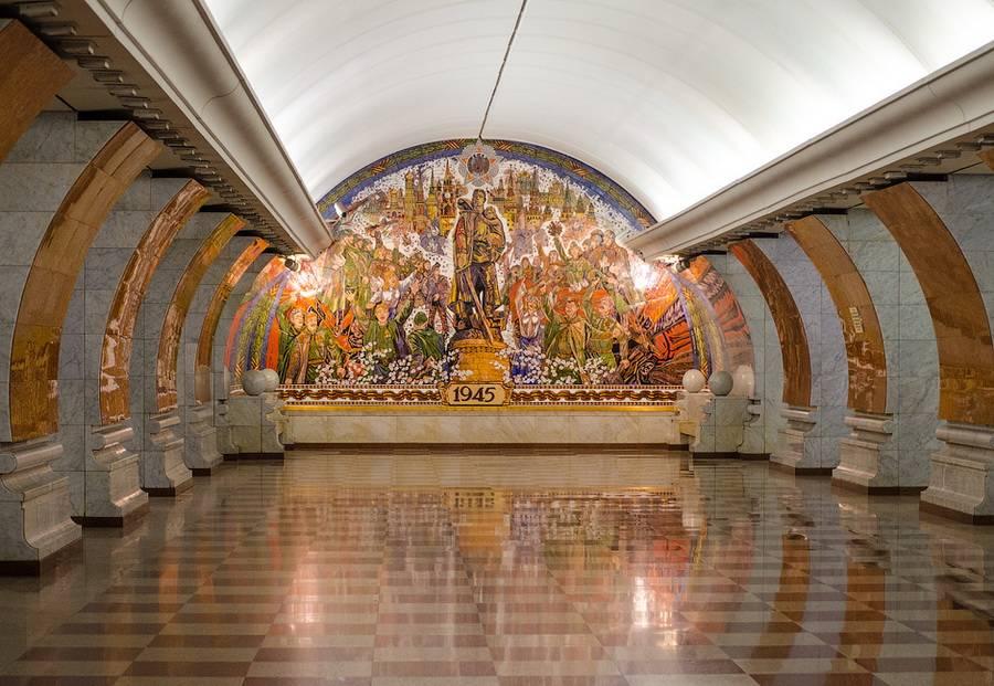 фото станций метро москвы внутри с названиями травянистых растений надземная