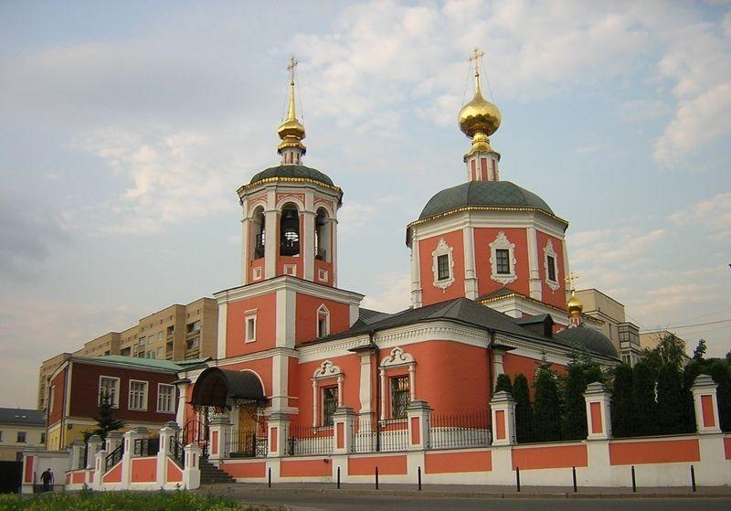 Московское подворье Троице-Сергиевой Лавры