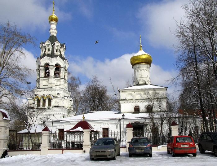 Церковь Святого Ильи Пророка в Черкизове