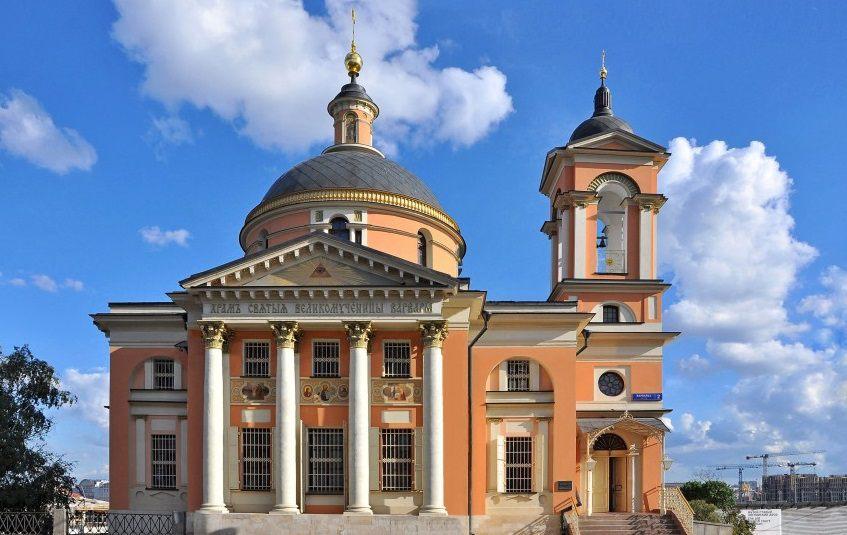 Церковь Святой Варвары на Варварке