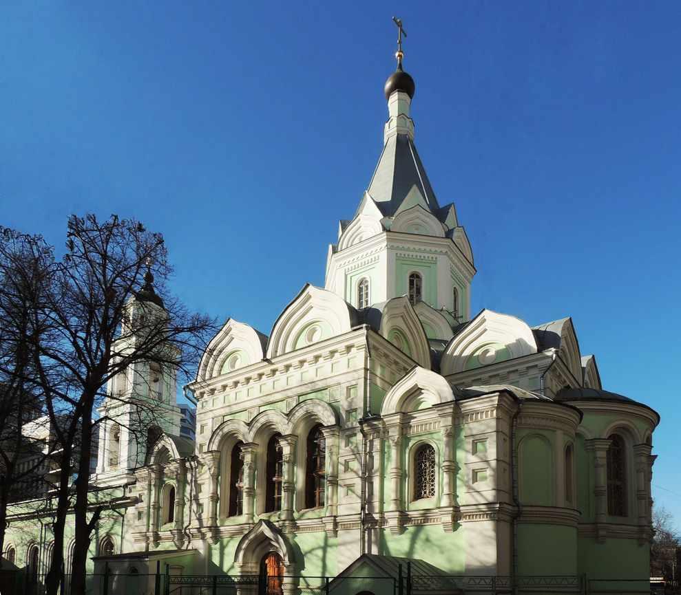 Троицкая церковь на Шаболовке