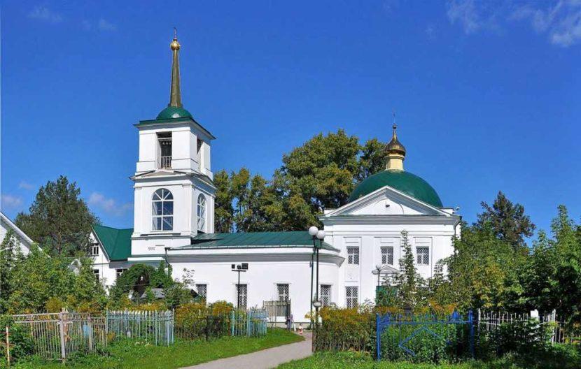 Церковь святого Димитрия Салоникского и Чулковское кладбище