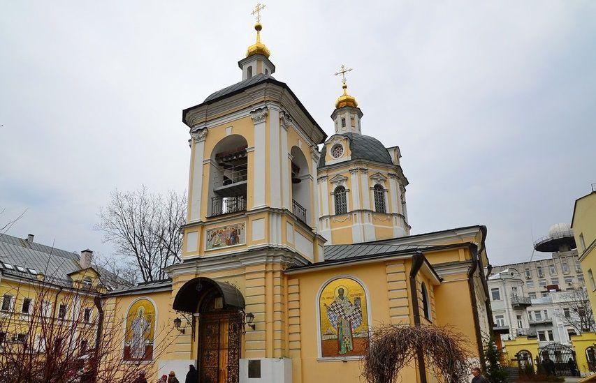 Свято-Николаевская церковь в Звонарях