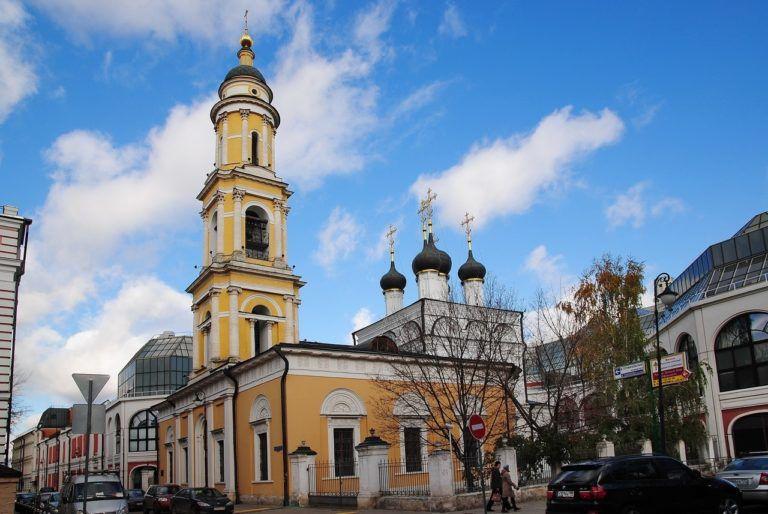 Церковь Святого Николая в Толмачах