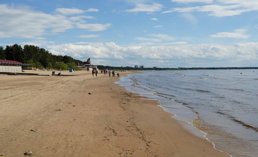 Пляж Сестрорецкий