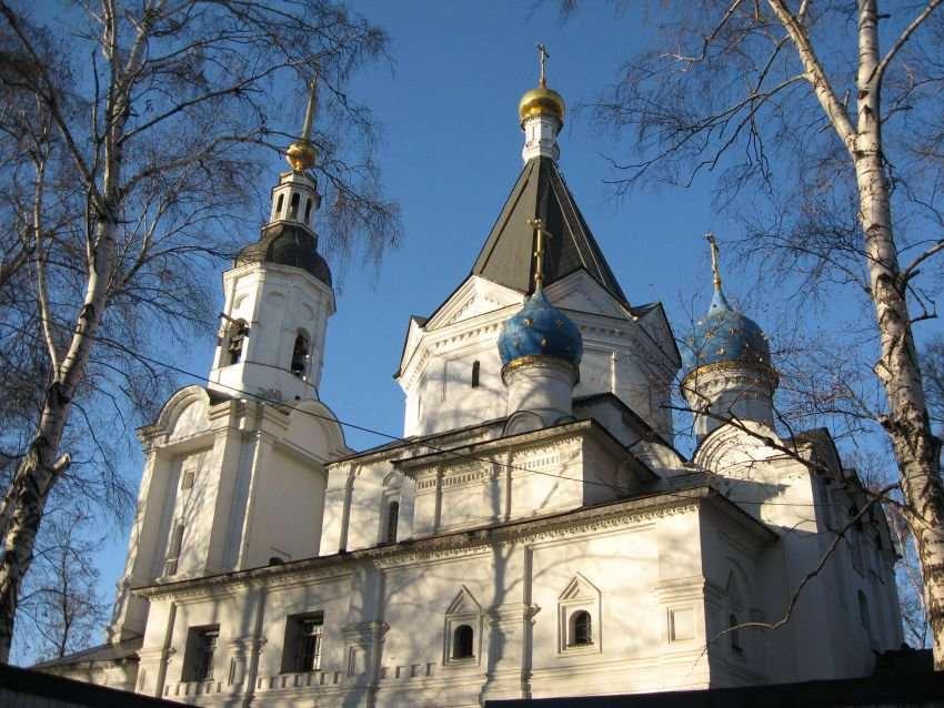 Успенская церковь в Вешняках