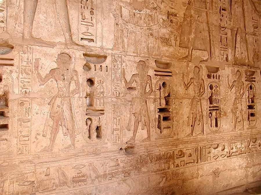 гробница Рамсеса третьего