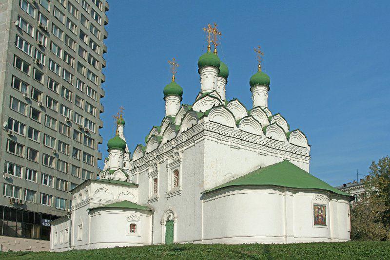 Церковь святого Симеона Стилита на Поварской