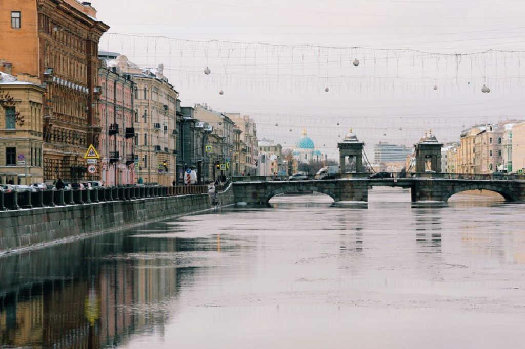 Каналы Петербурга