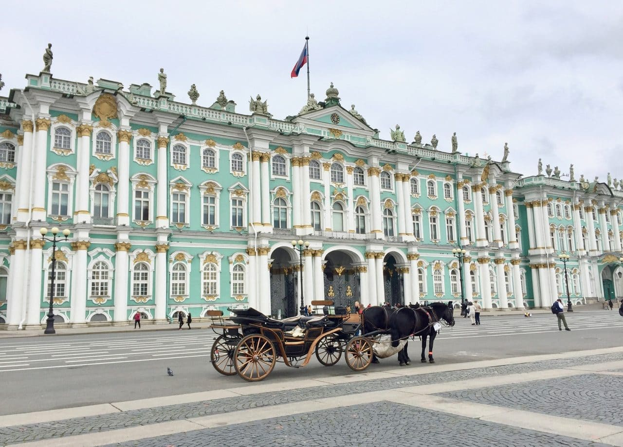 Петербург летом
