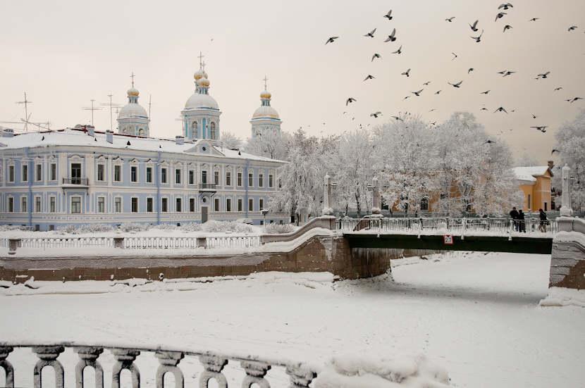 Санкт-Петербург зимой
