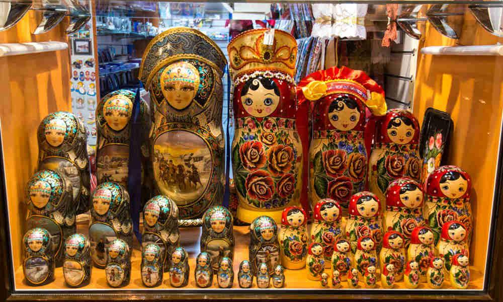 Сувениры в Петербурге