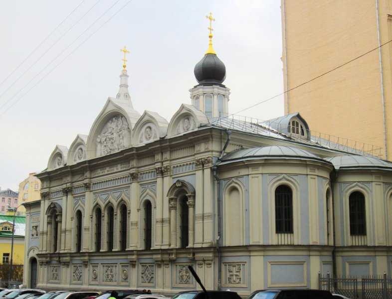 Успенская церковь в Успенском Вражке