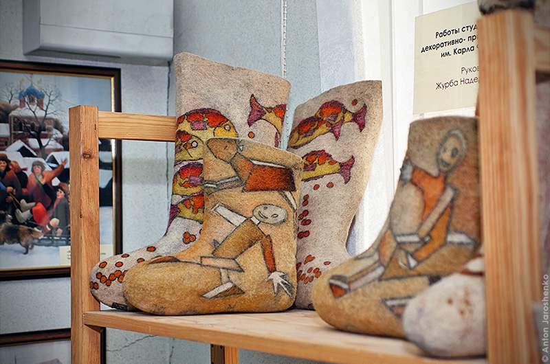 Русский музей валенок
